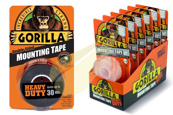 Ragasztástechnika Webáruház - GORILLA GLUE Mounting  Tape kétoldalas ragasztószalag
