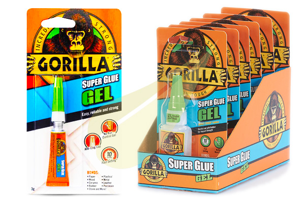 Ragasztástechnika Webáruház - GORILLA GLUE Super Glue Gél pillanatragasztó