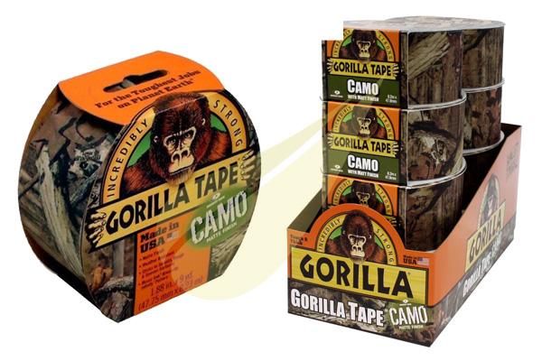 Ragasztástechnika Webáruház - GORILLA GLUE Gorilla Tape Camo ragasztószalag