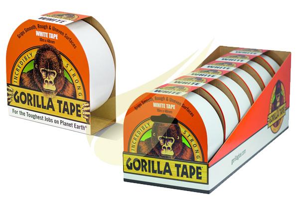 Ragasztástechnika Webáruház - GORILLA GLUE Gorilla Tape White ragasztószalag