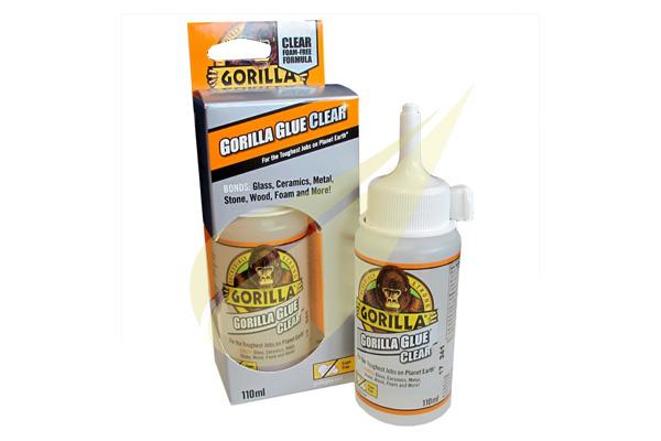 Gorilla Glue Clear 110ml kristálytiszta ragasztó