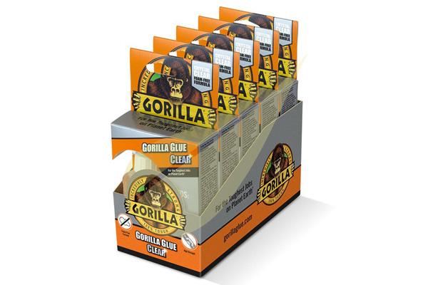 Gorilla Glue Clear 50ml 5db kristálytiszta ragasztó