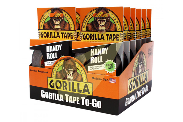 Duct Tape To Go Handy Roll 9x25 12db ragasztószalag