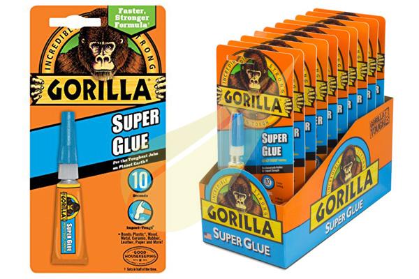 Ragasztó Webáruház - GORILLA GLUE Super Glue pillanatragasztó