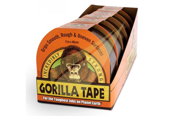 Gorilla Tape 11x48 6db ragasztószalag