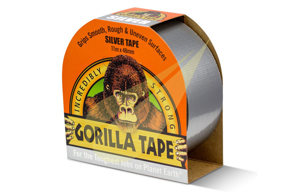 Ragasztó Webáruház - GORILLA GLUE Gorilla Tape Silver ragasztószalag