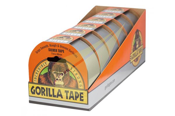 Silver Tape 11x48 6db ragasztószalag