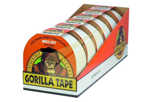 White Tape 10x48 6db ragasztószalag